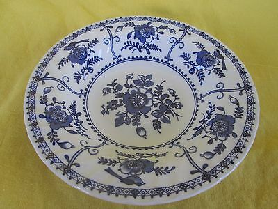 Johnson Brothers Indies Blue RIM SOUP BOWL -have more items to set