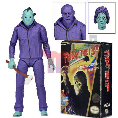"""NECA Friday the 13th Jason Voorhees Video Game Ver 7"""" Action Figure Power Play"""