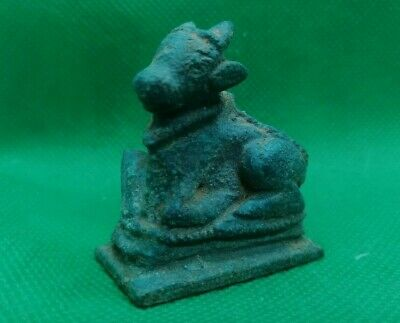 Small Celtic Roman Bronze Figurine Of A Calf - Fertility Symbol - 100 Bc - Rare