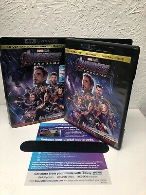 Avengers Endgame 4K Ultra HD + Digital HD (NO BLU RAY DISC INCLUDED) Please Read