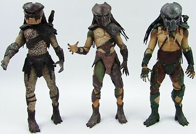 NECA Predator Action Figure Berserker Tracker Falconer 2010 Predators Incomplete