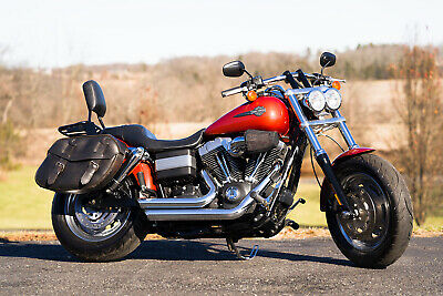 """2011 Harley-Davidson Dyna  2011 Harley-Davidson Dyna Fatbob Fat Bob FXDF Only 9,523 Miles! 96""""/6spd Extras!"""