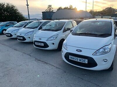 2012 Ford Ka White 4 In Stock Low Miles Long Mot