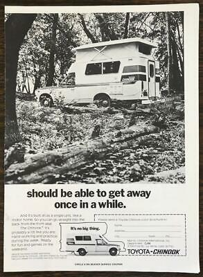 1966 CHINOOK MOBILODGE Dodge RV Motorhome photo vintage