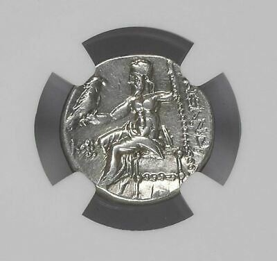 "NGC Greek Silver Drachm ALEXANDER III The Great, 4th Century BC ""EXTREMELY FINE"""
