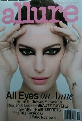 Anne Hathaway Allure Magazine September 2019 New No Mailing Labels
