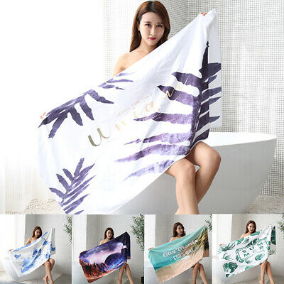 Quick Dry Extra Large Multifunctional Portable Swimming Microfibre Beach Towel