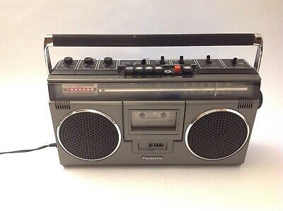 Panasonic Boombox RX-5040 Portable Tape Cassette Player
