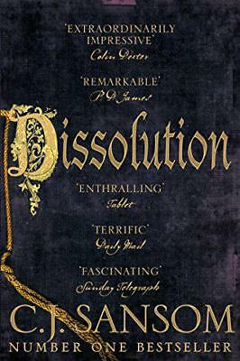 Dissolution (The Shardlake Series) by Sansom, C. J., NEW Book, FREE & FAST Deliv
