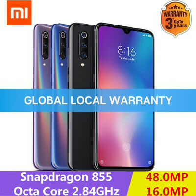 "Xiaomi Mi 9 4G Smartphone 6.39"" Android9.0 Snapdragon855 6GB 128GB 48MP Móvil"