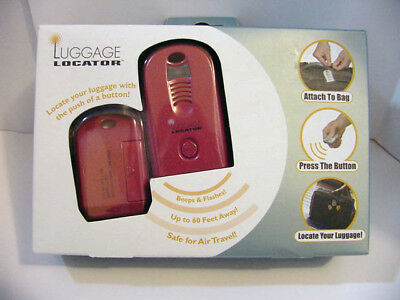 New in box ~*~  Travel Luggage Locator Beep & Flash Up to 60 Feet Away (b24)