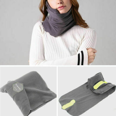 AOOU Travel Pillow Portable Soft Neck Support Perfect for Any Sitting PositionUS