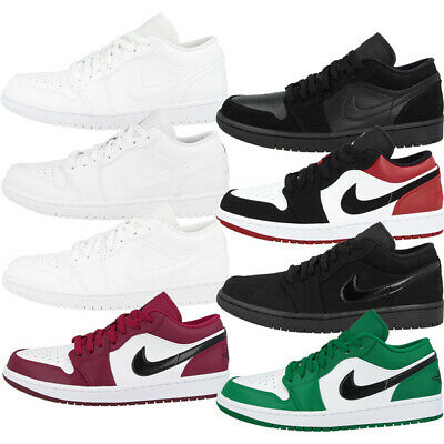 Nike Air Jordan 1 Low Schuhe Men Herren Basketball Sport Freizeit Sneaker 553558