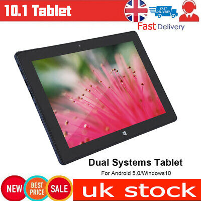"10.1"" 2 in 1 for Android 5.1/Windows10 Dual System Tablet Laptop 4G+64G 100-240v"