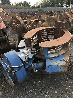 McQuaid Hydraulic Rotating selector grab To Suit Excavator Digger