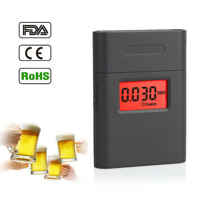 Car Portable Professional Police LCD Display Digital Breath Alcohol Tester