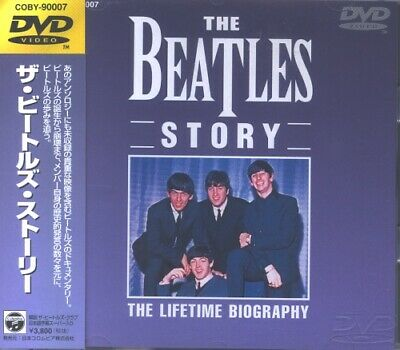 The Beatles Story - The Lifetime Biography Beatles DVD Japanese promo
