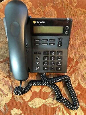 SHORETEL 480 IP VoIP Phone - Black - $89 99 | PicClick