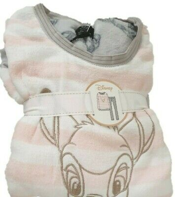 Bambi Cosy Pyjama Women's Girls Disney Fleece Pj's Long Bottom Top Primark