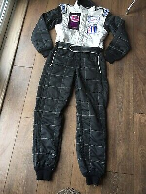 Sparco FIA Race/Rally Carting Overalls Small Mens Size 50 Le Mans 2002 Goodwood