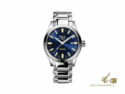 Ball Engineer M Marvelight Automatic Watch - NM2128C-S1C-BE - Blue - strap