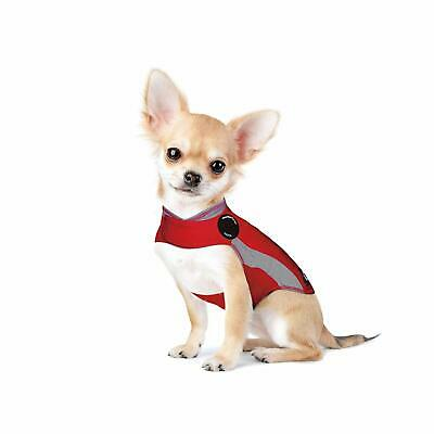 ThunderShirt Polo Dog Anxiety Jacket, Calming Vest - Red, XXS - Open Box, NEW!