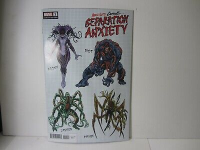 Marvel Comics Absolute Carnage Separation Anxiety # 1 Variant 1:10 Cover