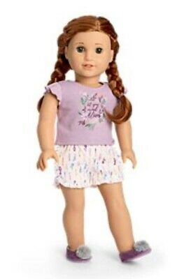 American Girl Blaire Wilson Blaire's Bloom Pj's For 18 Inch Doll
