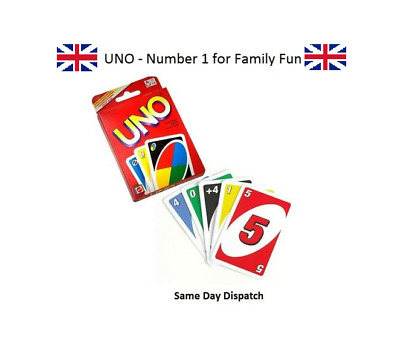 Fun Uno Card Game 108 Playing Cards playing Family Children Friends UK Seller