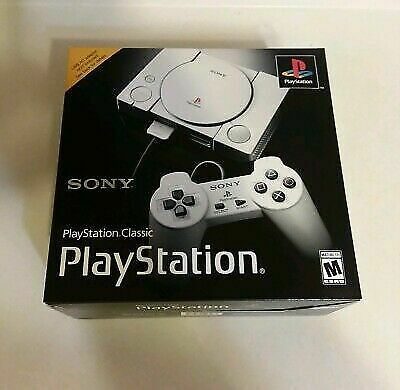 🔥Sony PlayStation🔥 Classic Gray Console ⭐Hot 20 Game⭐