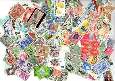 Huge Lot Of Stamps From British Commonwealth Off Paper ( 5000 )