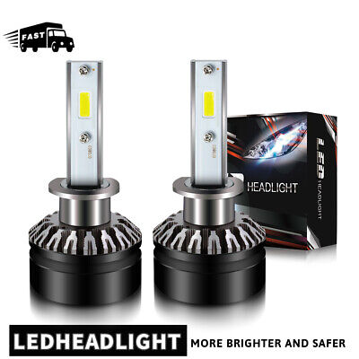 for KIA Sorento 2003-2013 LED Headlight Kit H1 12000LM 6000K High Beam Bulbs DTH