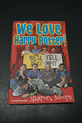We Love Harry Potter By Sharon Moore Perfect Gift To Any Harry Potter Fan