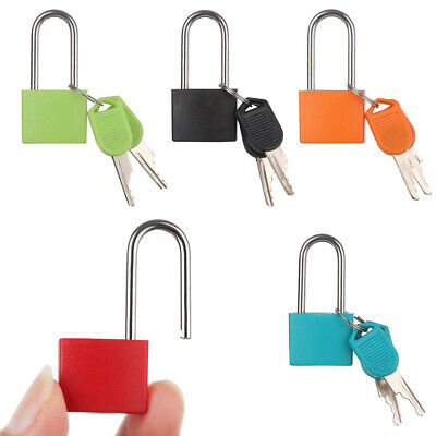 Travel Suitcase Diary Protector Luggage Strong Steel Lock Security Tool Padlock