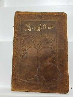 """Vintage Antique Late 1800's Book """"Longfellow"""" dated 1893 & 1901"""