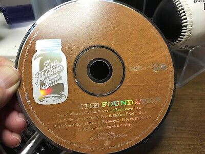 The Foundation by Zac Brown Band/Zac Brown (CD, Nov-2008, Home Grown Music)DISK