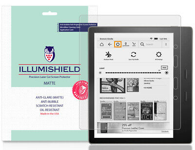 2x iLLumiShield Matte Screen Protector for Amazon Kindle Oasis 7 inch, 2019
