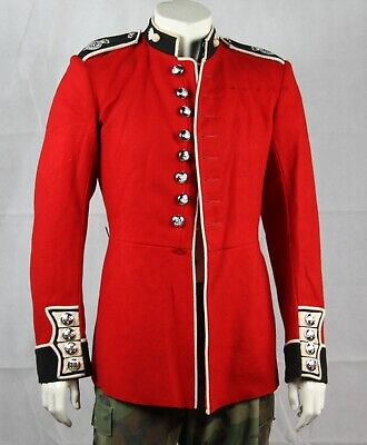 """Genuine British Army Wool Grenadier Guards Red Tunic Jacket Army 36-38"""" Chest876"""