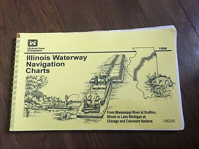 Illinois Waterway Navigation Charts; 1998 Mississippi River at Grafton, Illinois