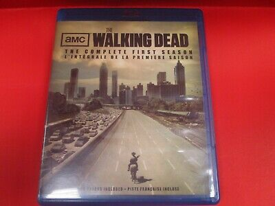 Walking Dead: The Complete First Season (Blu-ray Disc, 2011, Canadian) (AS)