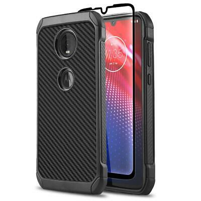 for MOTOROLA MOTO Z4 (2019), [Combat Series] Phone Case Shockproof Hybrid Cover