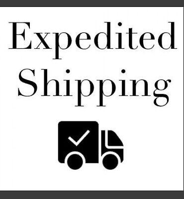 Expedited Shipping Cost