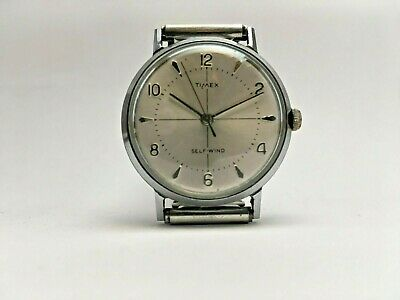 Timex Viscount 1960s Cross Hair Self Wind Automatic Cal. 31 GB Case Running