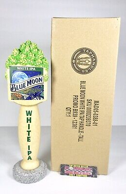"""Blue Moon White IPA Beer Tap Handle 10.5"""" Tall - Brand New In Box!"""