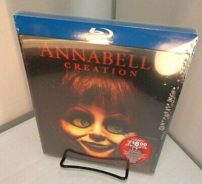ANNABELLE CREATION (Blu-ray+$8 Movie Ticket for IT 2) Lenticular Slipcover-NEW~