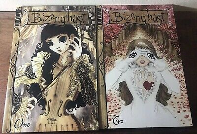 Tokyopop Manga Bizenghast: v.1&2 M. Alice Legrow Used; Good Book