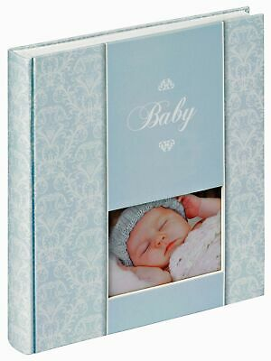 Daydreamer baby photo album with window, white pages, bookbound, acid free