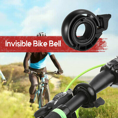 Invisible Bicycle Bell Aluminium Alloy Cycling Alarm Ring Loud Horn MTB E2H6