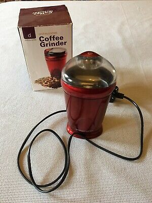 Andrew James Coffee Grinder Electric Machine For Whole Bean