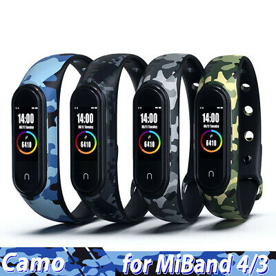 For Xiaomi Band 4/3 Mi Band 4 3 Bracelet Strap Silicone Wristband Smart Watch